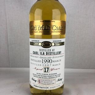 カリラ17年 1990 DL-OMC 50% 700ml