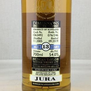 ジュラ13年2005 ダンカンテイラー ダイメンションズ 54%