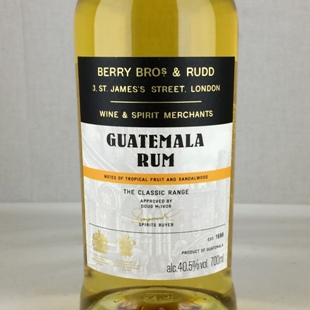 BB&Rクラシック グアテマラ ラム 40.5%
