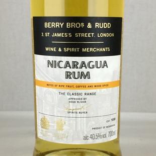 BB&Rクラシック ニカラグア ラム 40.5%
