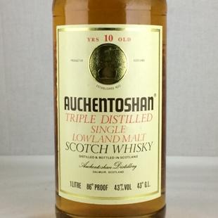 【オールドボトル】オーヘントッシャン10年 80年代 リッター瓶 43% 1000ml