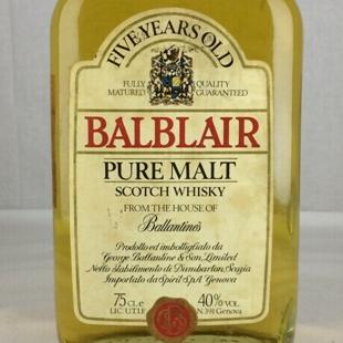 【オールドボトル】バルブレア5年 80年代 40% 750ml