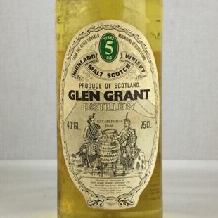 【オールドボトル】グレングラント5年 1969 40% 750ml