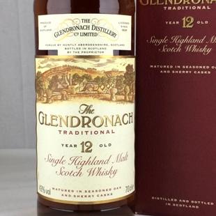 【オールドボトル】グレンドロナック12年 シェリー 90年代 43%