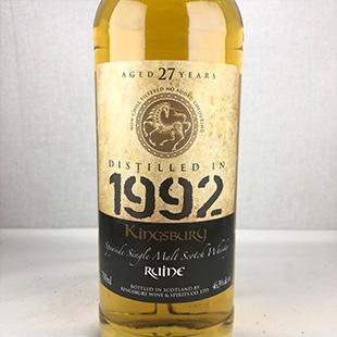ルーイーン27年1992 キングスバリー ゴールド 46.3%  700ml