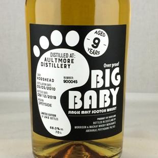 オルトモア9年 2010 オーバープルーフ BIG BABY 68%