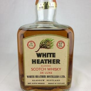【オールドボトル】ホワイトヘザー 70年代流通 43% 750ml