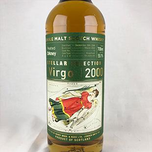 ピーテッドオークニー19年2000 ヴァーゴ ステラ―セレクション ウイスク・イー 55.1% 700ml