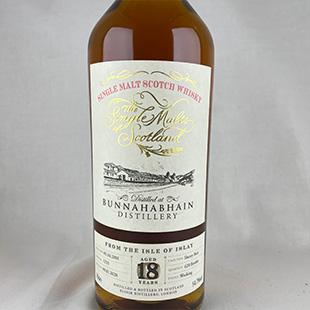 ブナハーブン18年2001 シェリー ザ・シングルモルツ・オブ・スコットランド エリクサーディスティラーズ 54.7% 700ml
