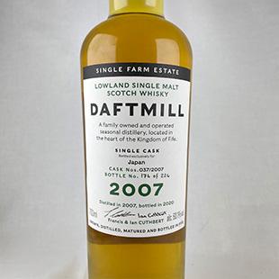 ダフトミル12年2007 バーボンバレル Whisk-e20th 60.1% 700ml