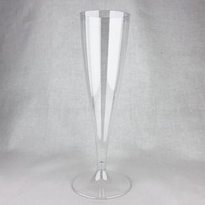 プラスティックシャンパングラス6脚セット
