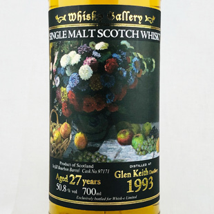 グレンキース27年1993 ウイスキーギャラリー ウイスク・イー 50.8%