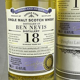 ベンネヴィス18年 2001 DL-OP 48.4%