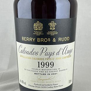 カルヴァドス1999 シェリーカスク ベリーズオウンセレクション BBR 46%