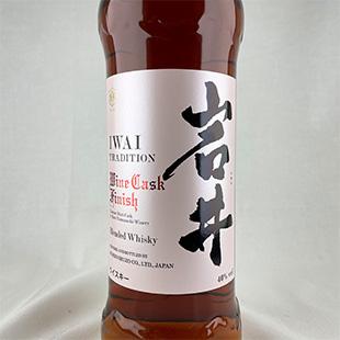 岩井トラディション ワインカスクフィニッシュ 信州マルス蒸留所(駒ヶ岳) 40% 750ml