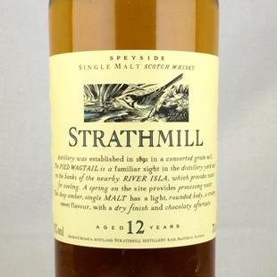 ストラスミル12年 UD 花と動物