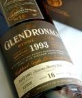 グレンドロナック16年1993オロロソシェリー ウイスキーマガジンライヴ!2010記念ボトル