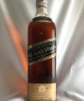 【オールドボトル】ジョニーウォーカー 黒ラベル ワイヤーコルク 60年代 43°760ml
