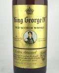 【オールドボトル】キングジョージ� ティンキャップ 43% 760ml