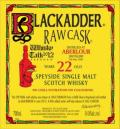 ウイスキートーク福岡オリジナル ブラックアダー アベラワー22年1990HHD