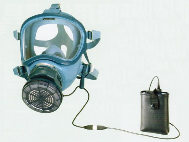 BL-700H電動ファン付き呼吸用保護具(全面形)