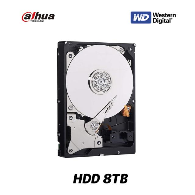 [DAHUA] Western Digital HDD 8TB SATA 3.0 (SATA 6Gb/s) 5400 rpm スタンダードモデル キャッシュ 64MB WD82EVRX