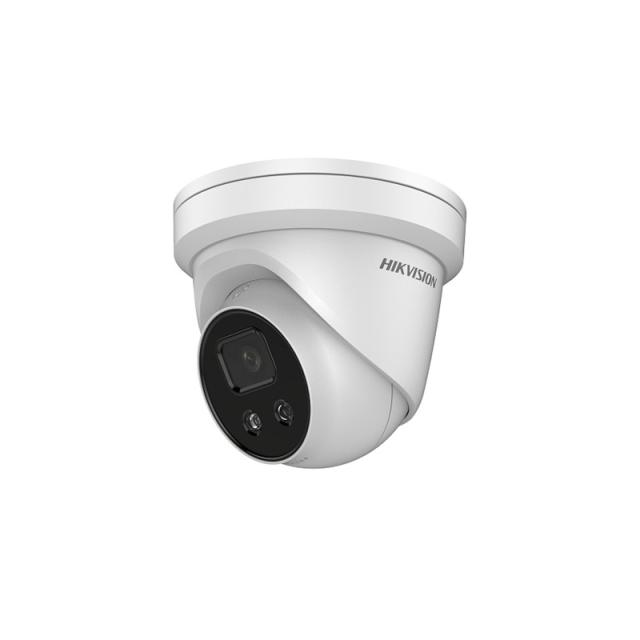 ColorVuタレット型 DS-2CD2347G1-LU(4mm) HIKVISION|屋内 4メガピクセル IPカメラ ネットワークカメラ 防犯カメラ|送料無料