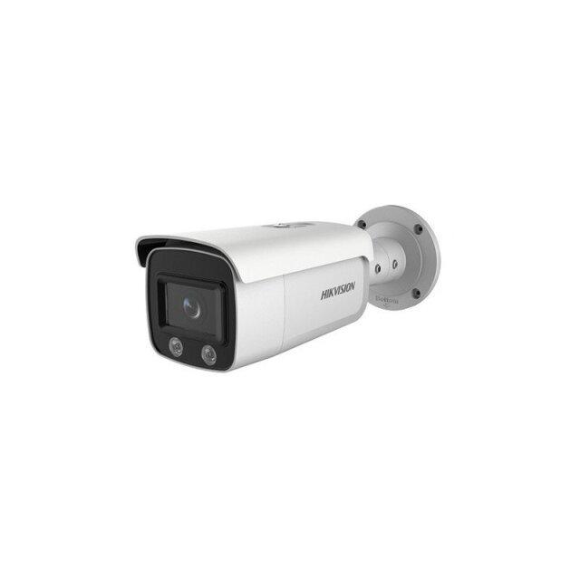 ColorVuバレット型 DS-2CD2T47G1-L(4mm) HIKVISION|屋外 4メガピクセル IPカメラ ネットワークカメラ 防犯カメラ|送料無料