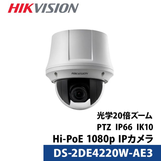防犯カメラ IP CAMERA PTZドームカメラ DS-2DE4220W-AE3