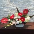 法人様向け受付定期装花