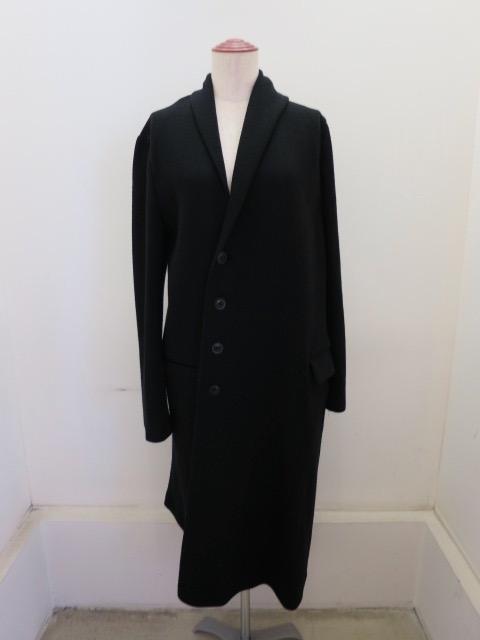 Y's YOHJI YAMAMOTO (ワイズ ヨウジヤマモト)リブールダブルフェイスストロングジャケット:ブラック