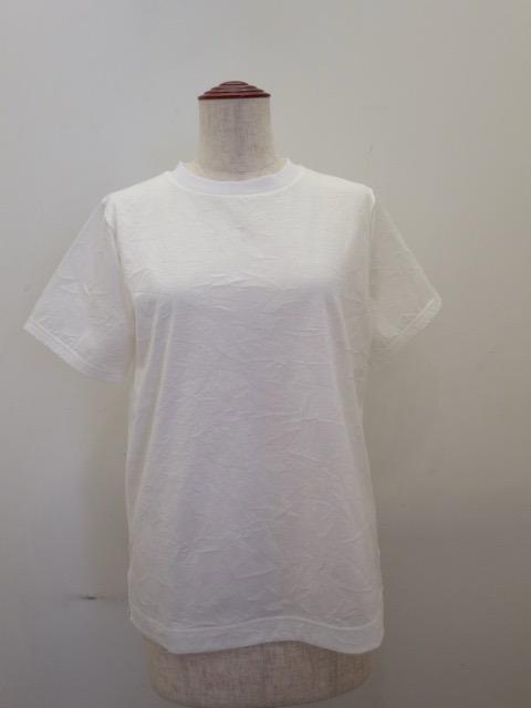 KEI Hayama PLUS(ケイハヤマプリュス),スーピマコットンキャッチャーワッシャー半袖Tシャツ:ホワイト