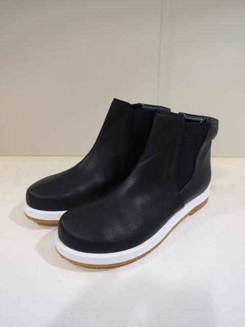 KEI Hayama PLUS(ケイハヤマプリュス),ブラックゴアショートブーツ:ブラック