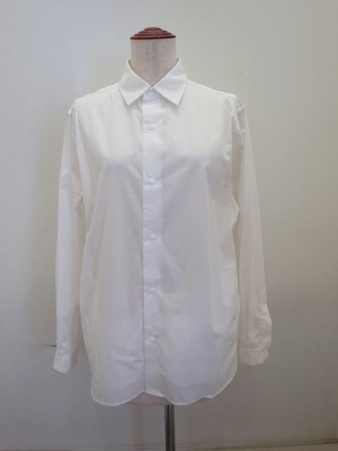 ロジェ(ROSIER) スナップボタンシャツジャケット:ホワイト