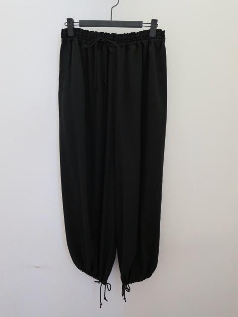 KEI Hayama PLUS(ケイハヤマプリュス) パラシュートパンツ:ブラック