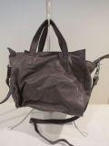JESS-bag (ジェスバッグ),牛革2WAY手提げバッグ小:グレー