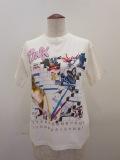 Y's YOHJI YAMAMOTO (ワイズ ヨウジヤマモト),コットン天竺プリントTシャツ:ホワイト