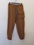 Y's YOHJI YAMAMOTO (ワイズ ヨウジヤマモト),ライセーヌキャンバスデタッチャブルポケットパンツ:ブラウン