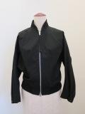 Y's YOHJI YAMAMOTO (ワイズ ヨウジヤマモト),ライトセーヌキャンバスショートブルゾン七分袖:ブラック