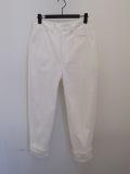 Y's YOHJI YAMAMOTO (ワイズ ヨウジヤマモト),ダライツイル裾別布付きパンツ:ホワイト
