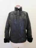 エーティー アツロウタヤマ (A/T ATSUROTAYAMA),合成皮革ライダーズジャケット:ブラック
