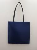 KEI Hayama PLUS(ケイハヤマプリュス),ガラスレザートートバッグ:ブルー
