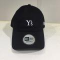 Y's YOHJI YAMAMOTO (ワイズ ヨウジヤマモト),NEWERA×Y'sコラボキャップ:ブラック