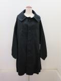 Y's YOHJI YAMAMOTO (ワイズ ヨウジヤマモト),コットンツイル変形袖コート:ブラック