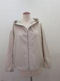 KEI Hayama PLUS(ケイハヤマプリュス),エクセルテックタンブラーフード付きジャケット:ベージュ