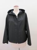KEI Hayama PLUS(ケイハヤマプリュス),エクセルテックタンブラーフード付きジャケット:ブラック