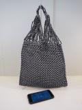 Y's YOHJI YAMAMOTO (ワイズ ヨウジヤマモト) 編みハンドバッグ小:ホワイト×ブラック