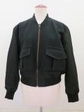g. ジードット  フライトジャケット:ブラック