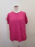 me ISSEY MIYAKE (ミー イッセイミヤケ),メレンゲ半袖Tシャツ:ピンク