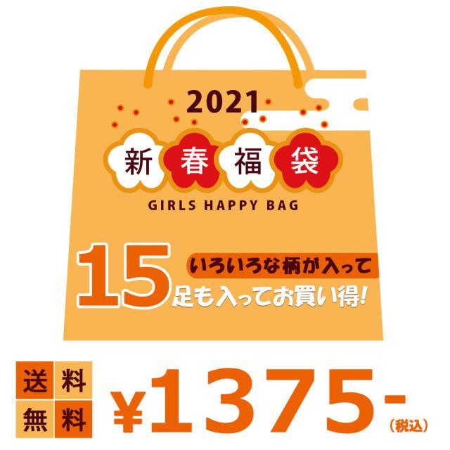 福袋送料無料レディース 靴下 たっぷり17足セット ソックス 福袋 数量限定 2021年 婦人